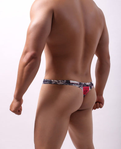 G-string Jocks Girly Red - Mr JOCKS
