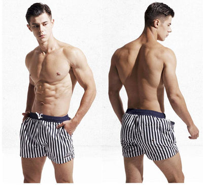 DESMIIT STRIPED SWIMS HORTS - Mr JOCKS - Shop Now