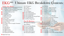 Load image into Gallery viewer, Ultimate EKG Breakdown (1st Ed)