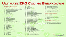 Load image into Gallery viewer, Ultimate EKG Coding Breakdown (1st Ed)