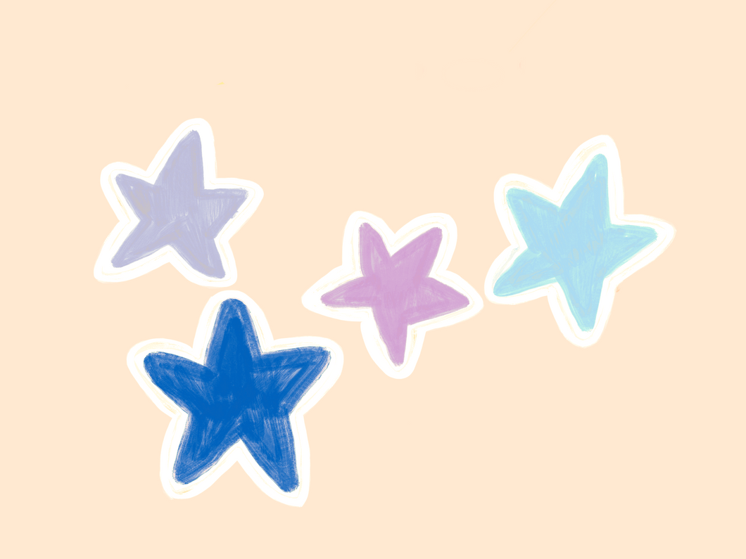 Cool Colored Stars