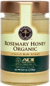 HONEY, ORGANIC ROSEMARY HONEY, 250 g/8.8 oz
