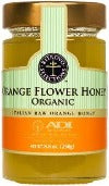 HONEY, ORGANIC ORANGE FLOWER HONEY, 250 g/8.8 oz