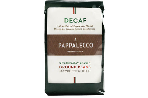 COFFEE, ITALIAN ESPRESSO DECAF, GROUND, 12 oz