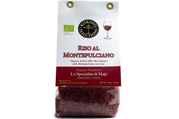 PASTA. RICE, ORGANIC RED WINE RICE, 250 g/8.8 oz
