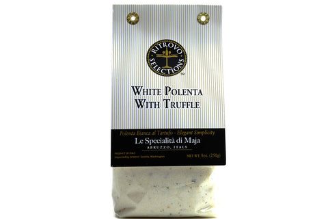 PASTA, POLENTA, WHITE POLENTA WITH TRUFFLE AND PORCINI, 250 g/8 oz