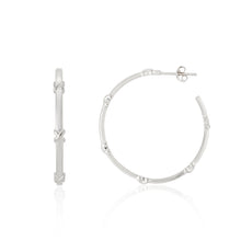 Load image into Gallery viewer, Deia Kiss Hoop Earrings