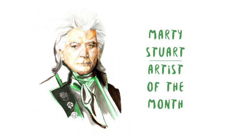 MARTY STUART IS THE BLUEGRASS SITUATION'S ARTIST OF THE MONTH