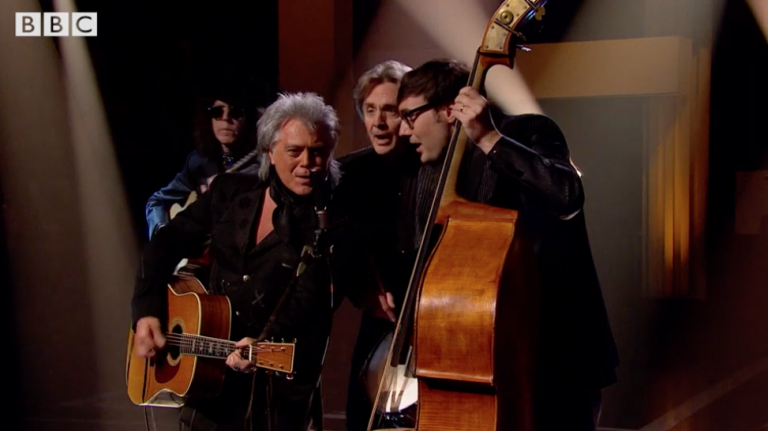 MARTY ON BBC TWO'S LATER… WITH JOOLS HOLLAND