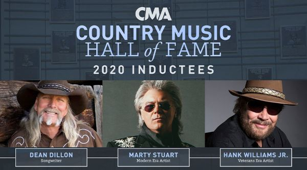 MARTY STUART INDUCTED INTO COUNTRY MUSIC HALL OF FAME AS MODERN ERA ARTIST