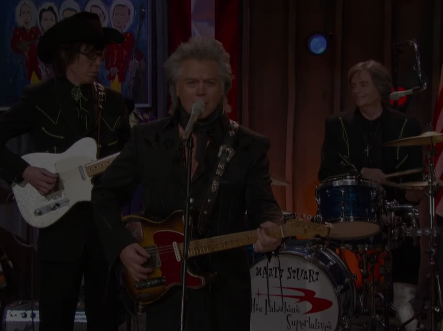 The Marty Stuart Show premieres on RFD TV and runs for 156 episodes. ;