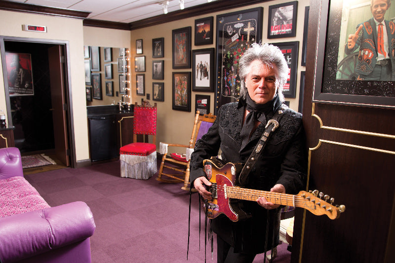 Marty celebrates 50th birthday at the Grand Ole Opry and gets his own dressing room