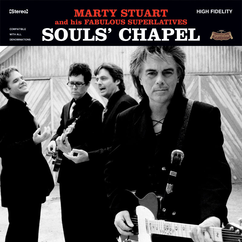 Records Souls' Chapel with Mavis Staples and Marty is gifted Pops Staples' guitar