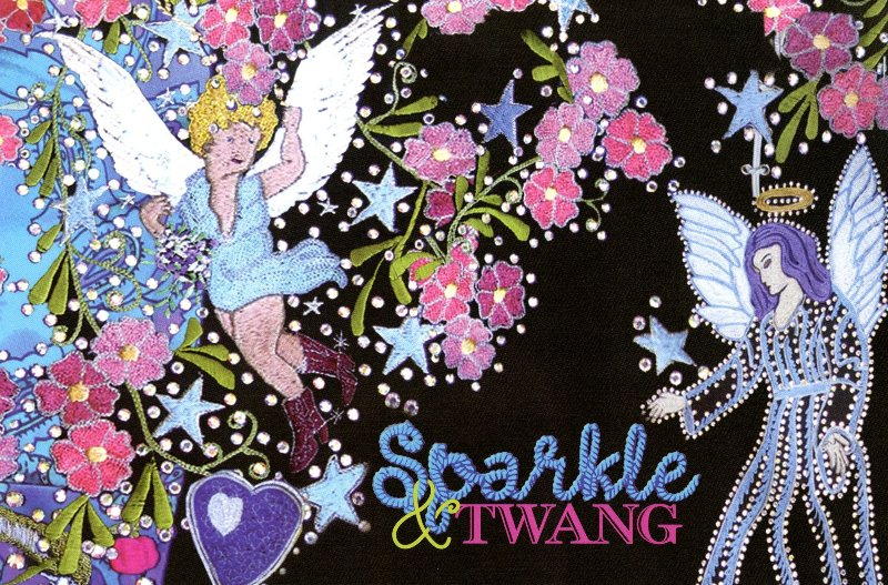 The Sparkle and Twang exhibit opens