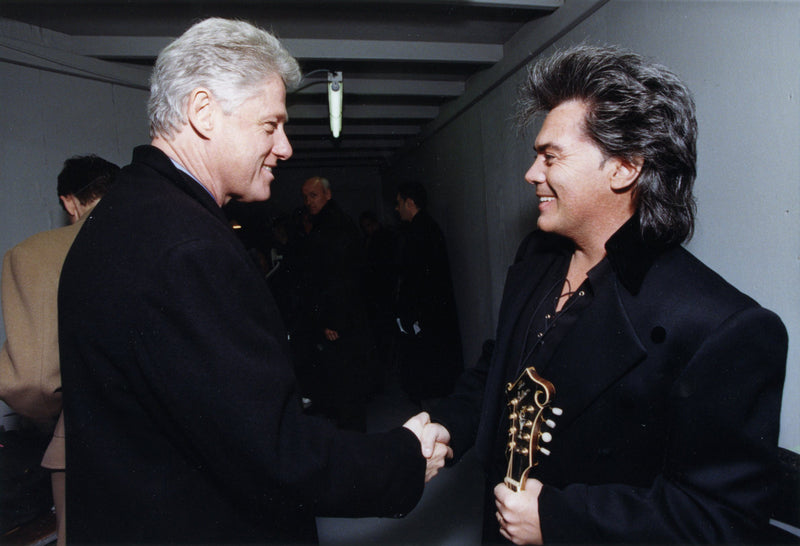 Performs for President Bill Clinton