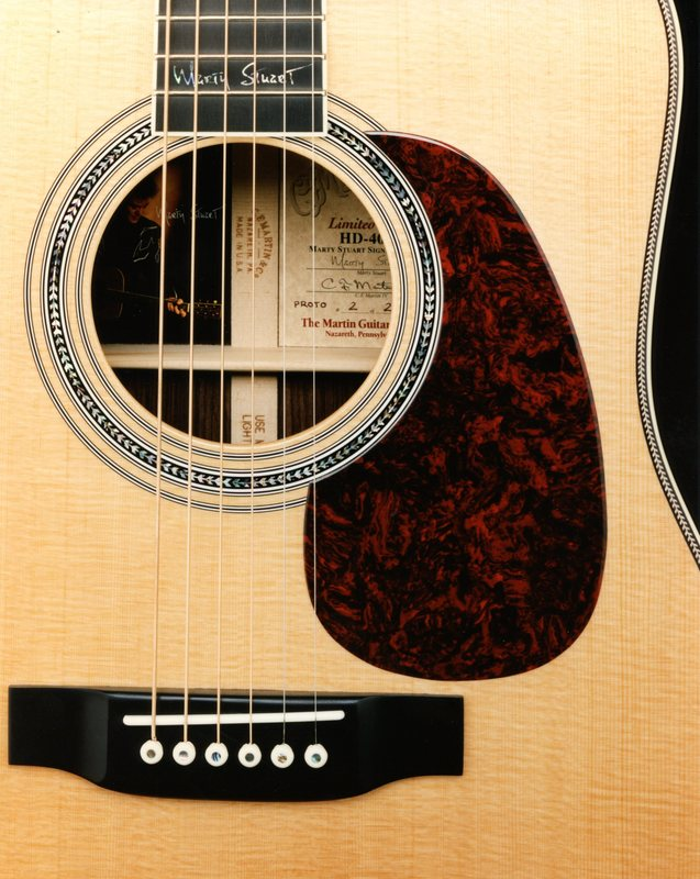 Signature Martin Acoustic is Released