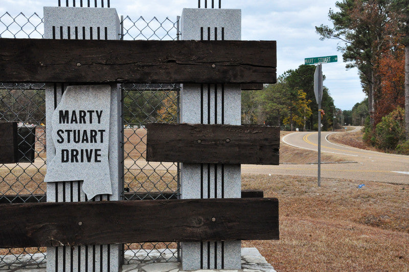 Has a road, Marty Stuart Drive, named after him in Arlington, MS