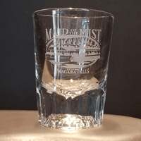 Custom Engraved Clear Shot Glass