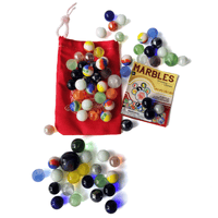 Marbles With Canvas Bag