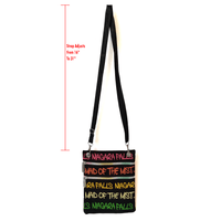 Robin Ruth Typography Neck Wallet