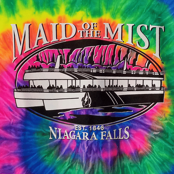 Maid of the Mist Tie Dye Adult T-Shirt