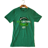 Ecolectric Adult Short Sleeve Kelly Green T-Shirt