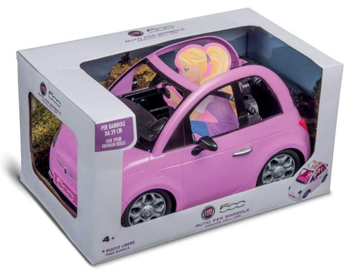 00621 FIAT 500 ROSA PER FASHION DOLL
