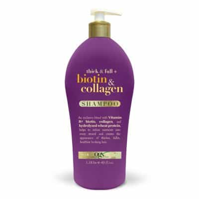 OGX Thick & Full + Biotin & Collagen Shampoo (40 FL OZ)