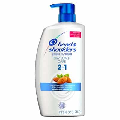 Head & Shoulders 2- n- 1 Dandruff Shampoo & Conditioner - Dry Scalp Care (43.3 FL OZ)