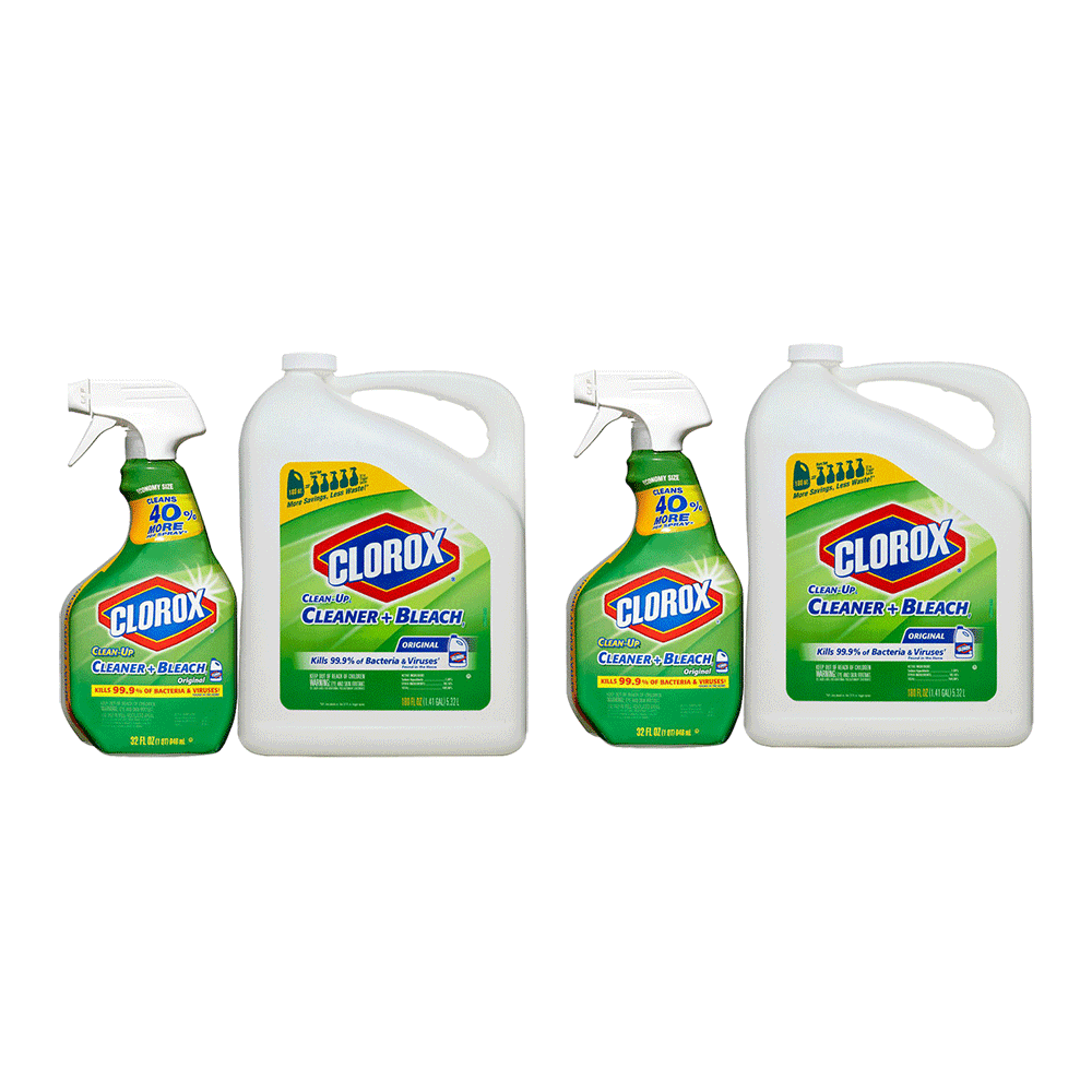2 Pack of Clorox Clean-Up All-Purpose Cleaner with Bleach