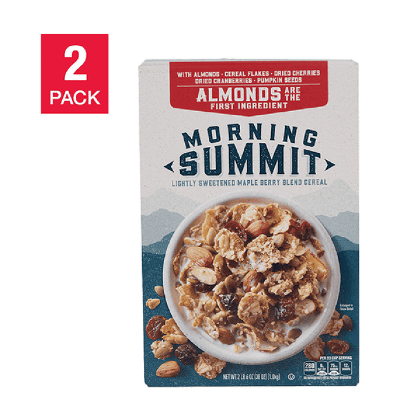 2 Pack of General Mills Morning Summit Cereal