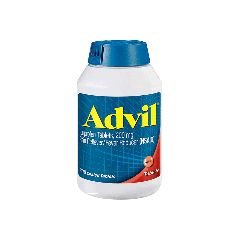 Advil Ibuprofen Pain Reliever/Fever Reducer Tablets (360 ct. - 200 mg)