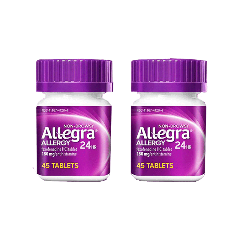 Allegra Allergy Tablets - Non-Drowsy (90 ct - 180 mg)