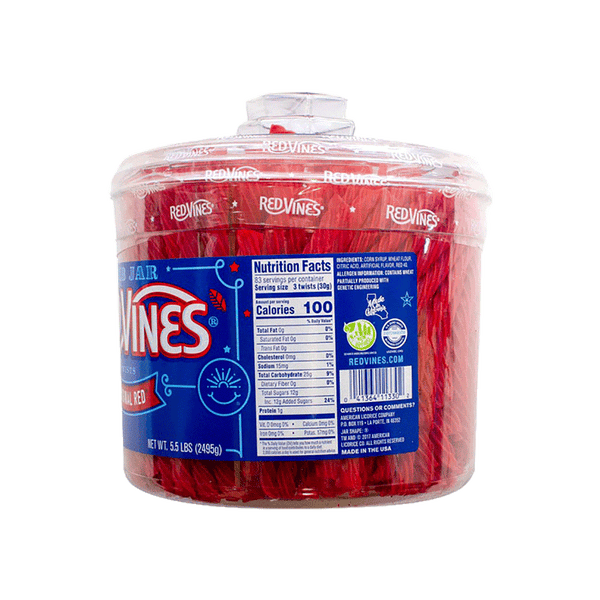 American Licorice Red Vines (5.5 lb)
