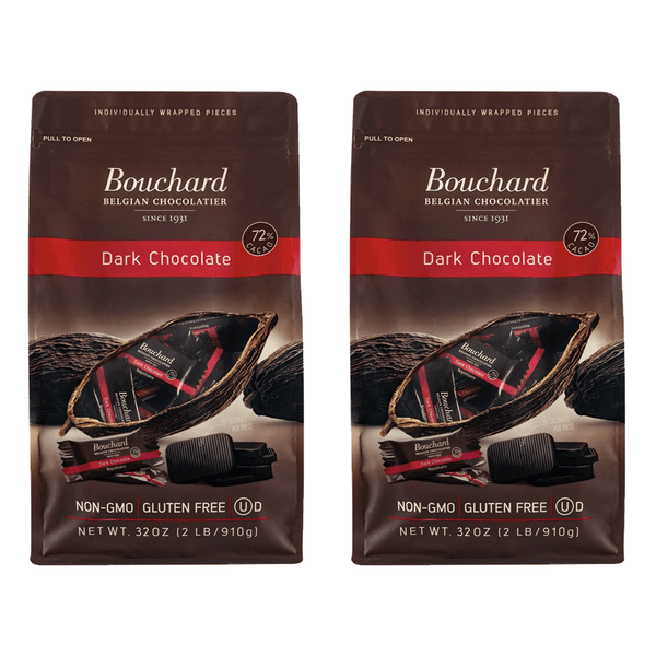 Bouchard Belgian Napolitains Premium Dark Chocolate (2 PK - 32 oz)