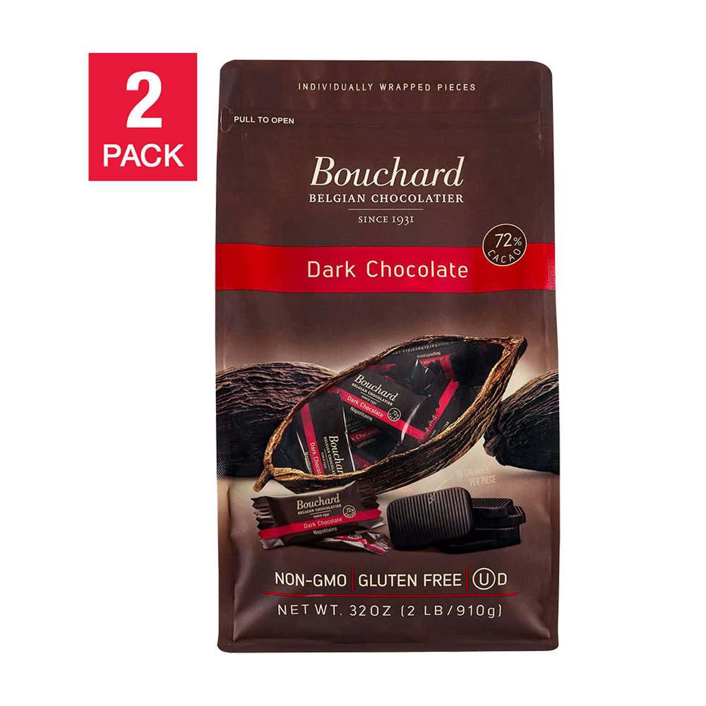 Bouchard Belgian Napolitains Premium Dark Chocolate