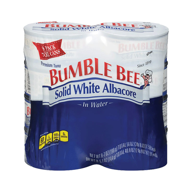 Bumble Bee Solid White Albacore Tuna (8 PK - 5 OZ)