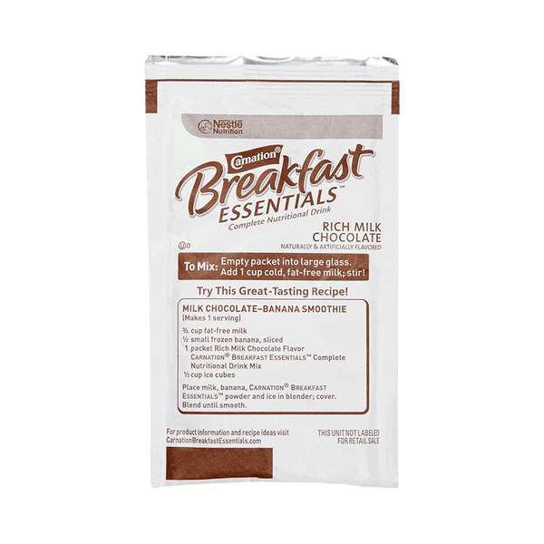 Carnation Breakfast Essentials Drink Mix - Rich Milk Chocolate (40 ct. - 1.26 OZ)