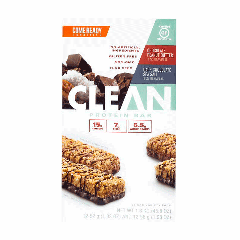 Come Ready Nutrition Clean Protein Bar Variety Pack (24 ct.)