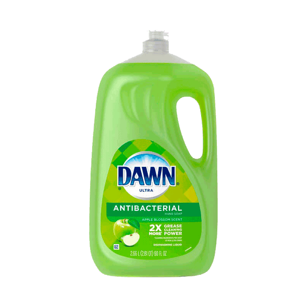 Dawn Ultra Antibacterial Liquid Dish Soap - Apple Blossom (90 OZ)