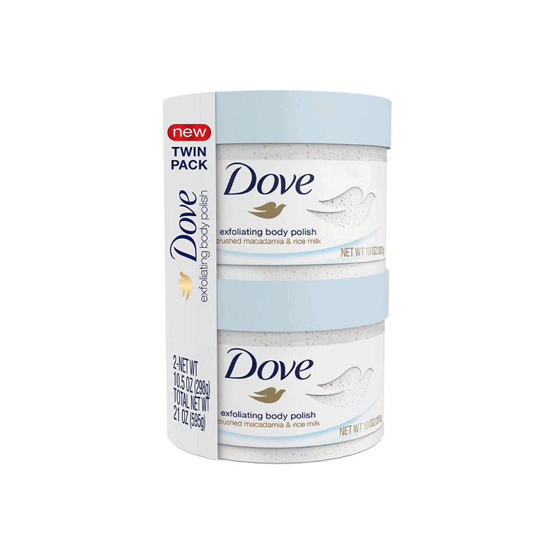 Dove Exfoliating Body Polish (2 PK - 10.5 OZ)