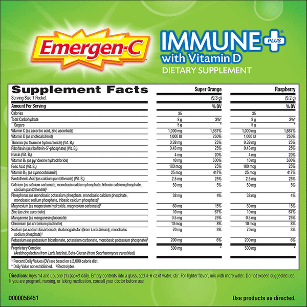 Emergen-C Immune Plus (70 PK)