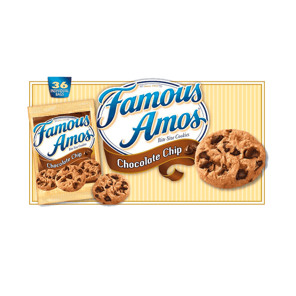 Famous Amos Chocolate Chip Cookies (36 ct. - 2 OZ)