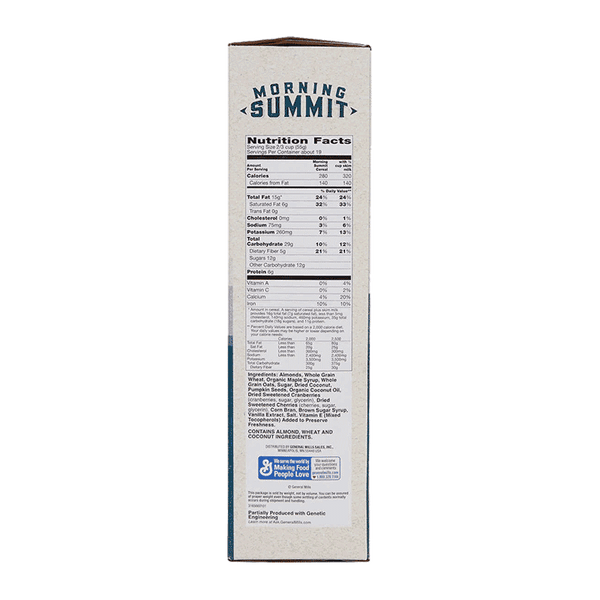 General Mills Morning Summit Cereal (38 OZ)