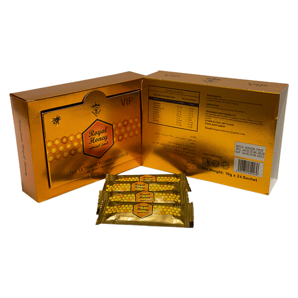 Royal Honey For Him - Gold (24 Sachets - 10 G)