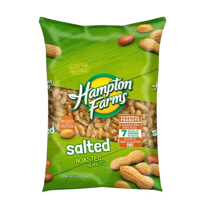 Hampton Farms Salted In-Shell Peanuts (5 lbs)