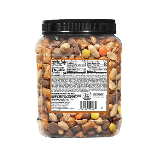 Hoody's Peanut Butter Chocolate Mix (44 OZ)