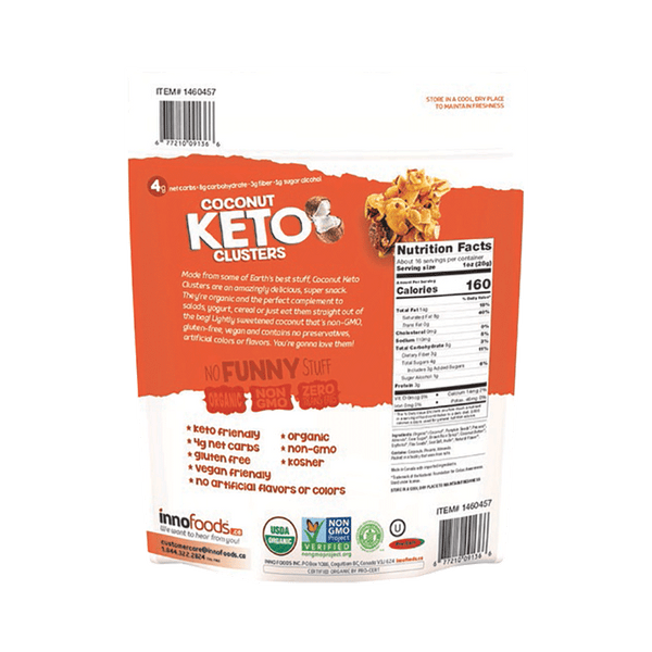 Inno Foods Organic Coconut Keto Clusters