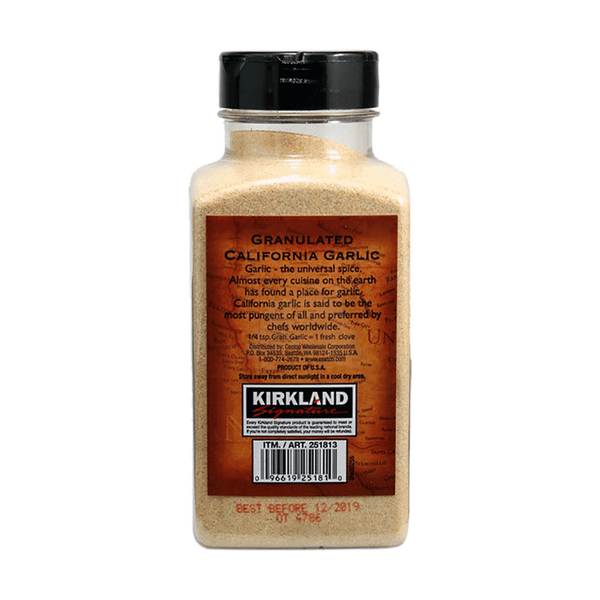 Kirkland Signature California Granulated Garlic (18 OZ)