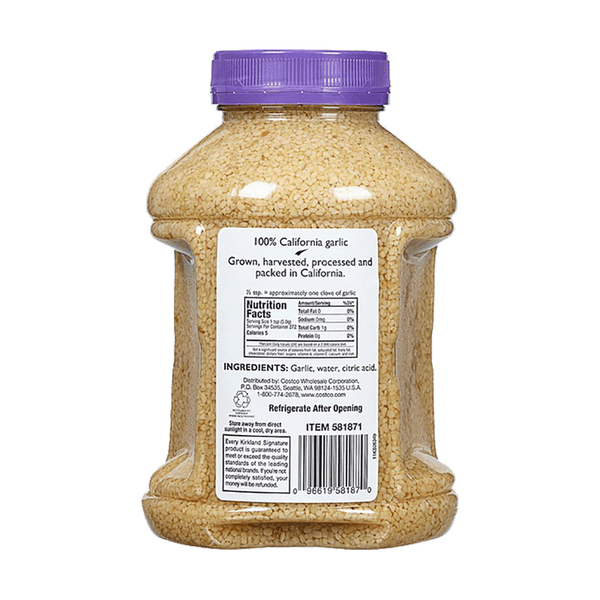 Kirkland Signature Minced California Garlic (48 OZ)